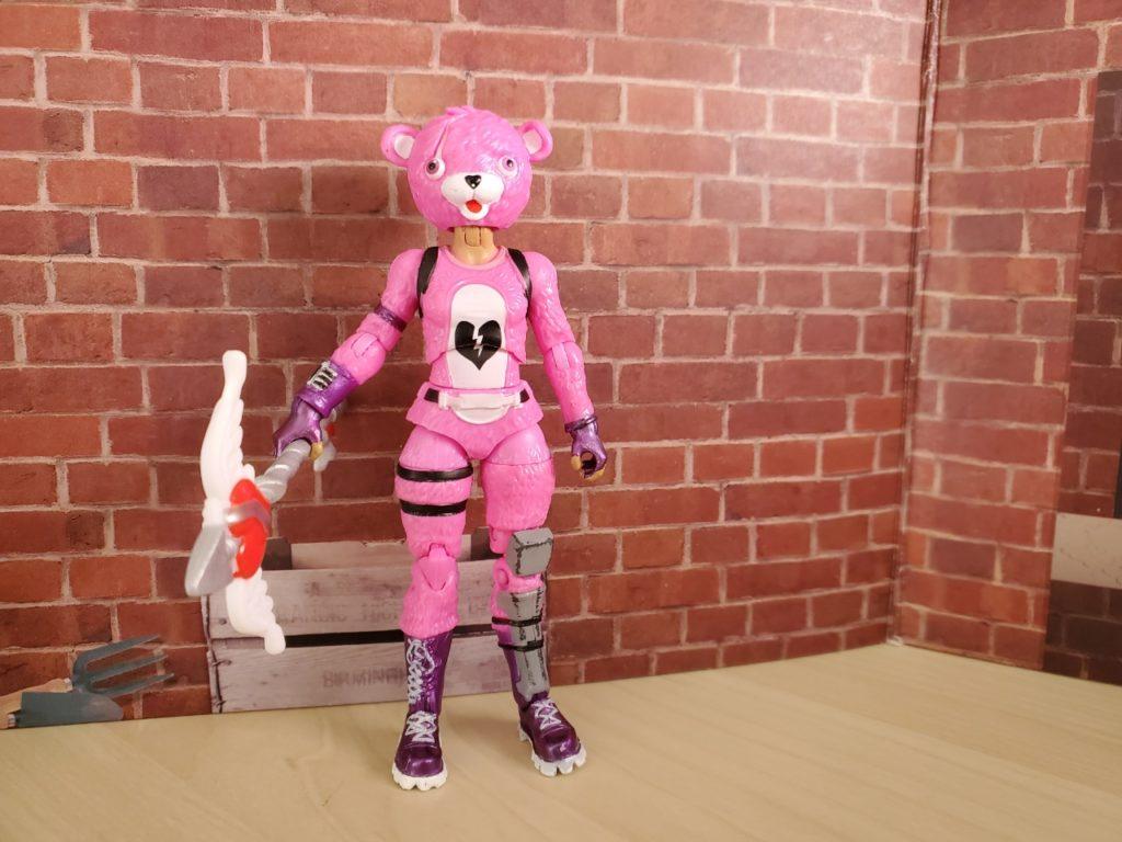 フォートナイト_ピンクのクマちゃん正面
