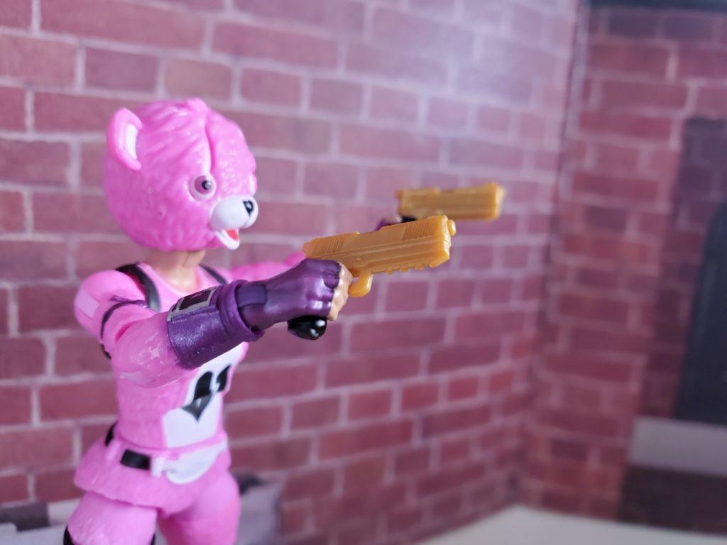 フォートナイト_ピンクのクマちゃん武器