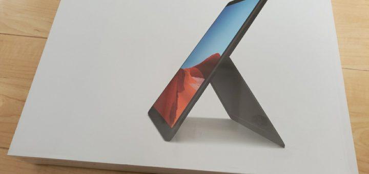 SurfaceProX外箱