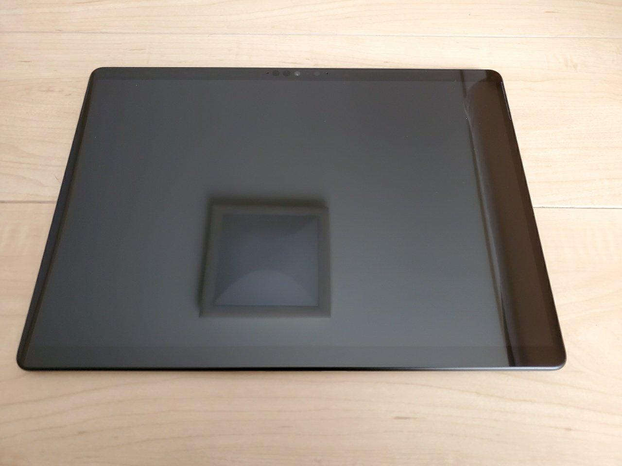 SurfaceProX_本体前面