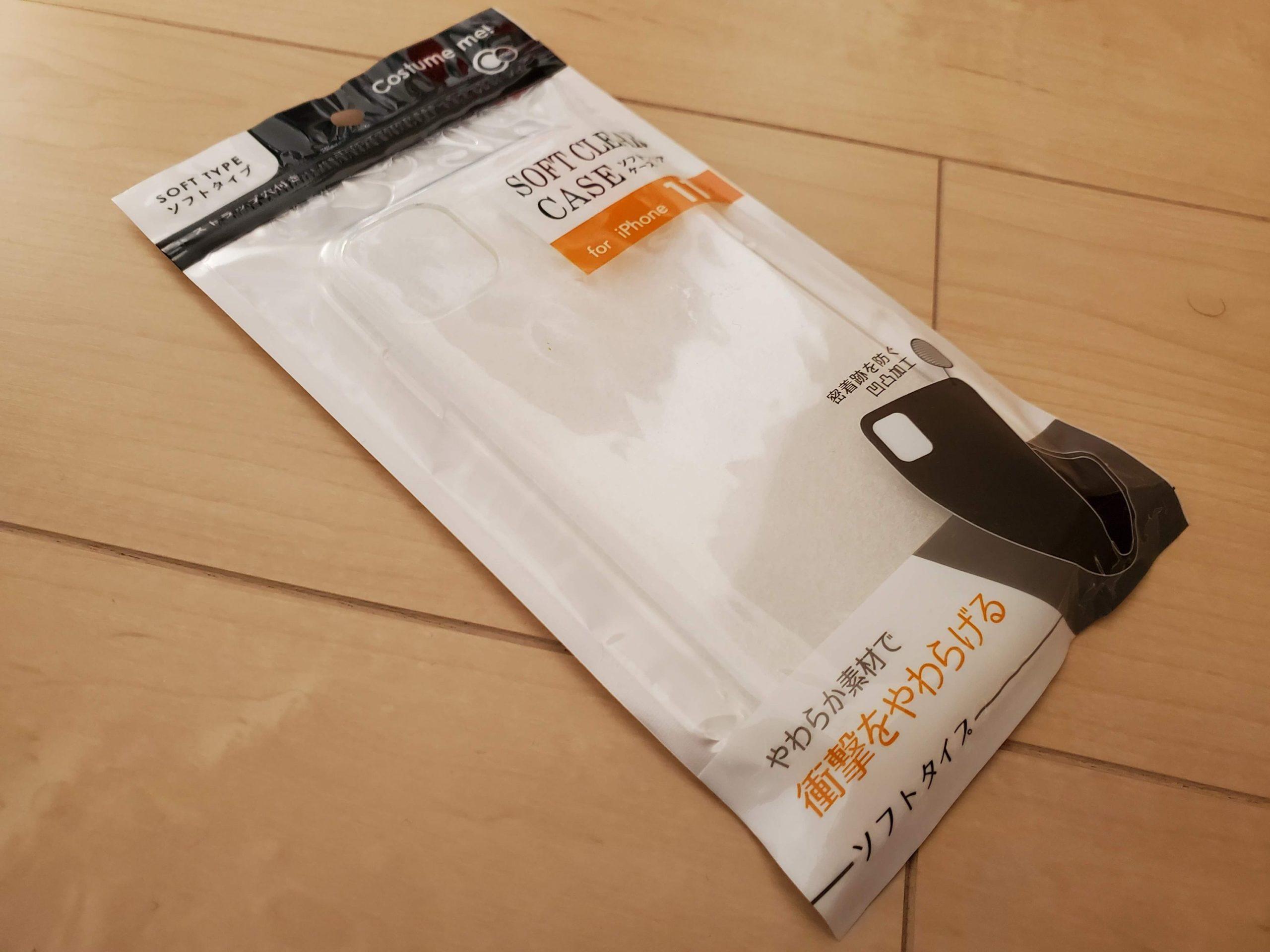 セリアのiPhone11用ケース