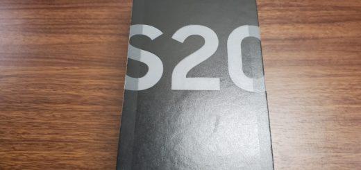 Galaxy S20_外箱