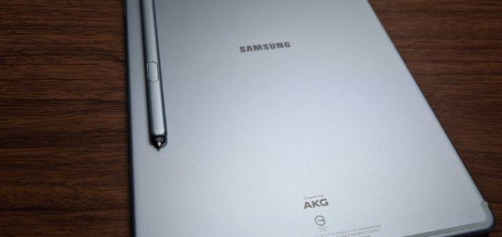 Galaxy Tab S6本体裏面