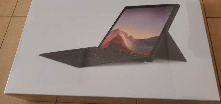 Surface Pro7外箱