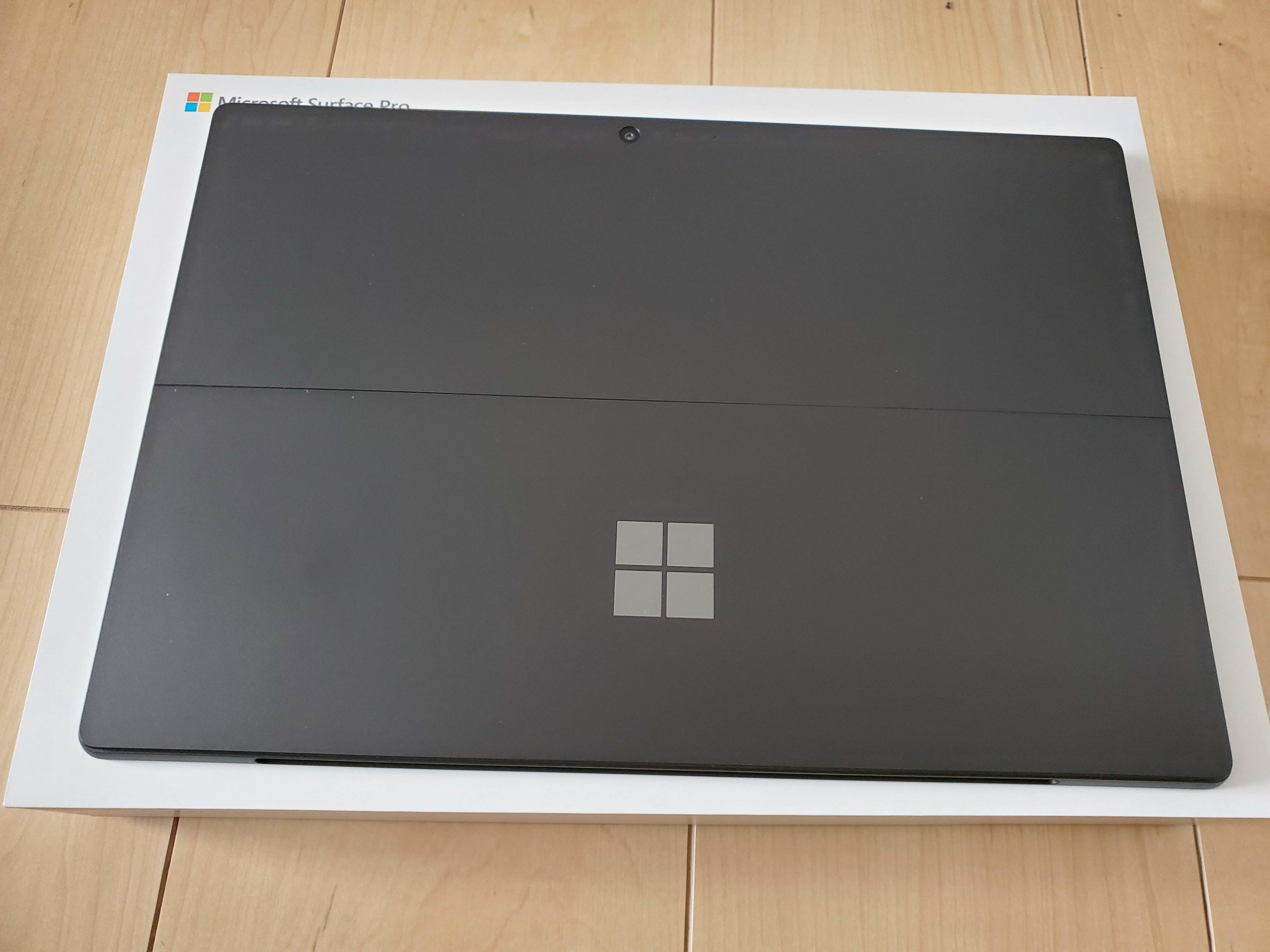 Surface Pro 7背面