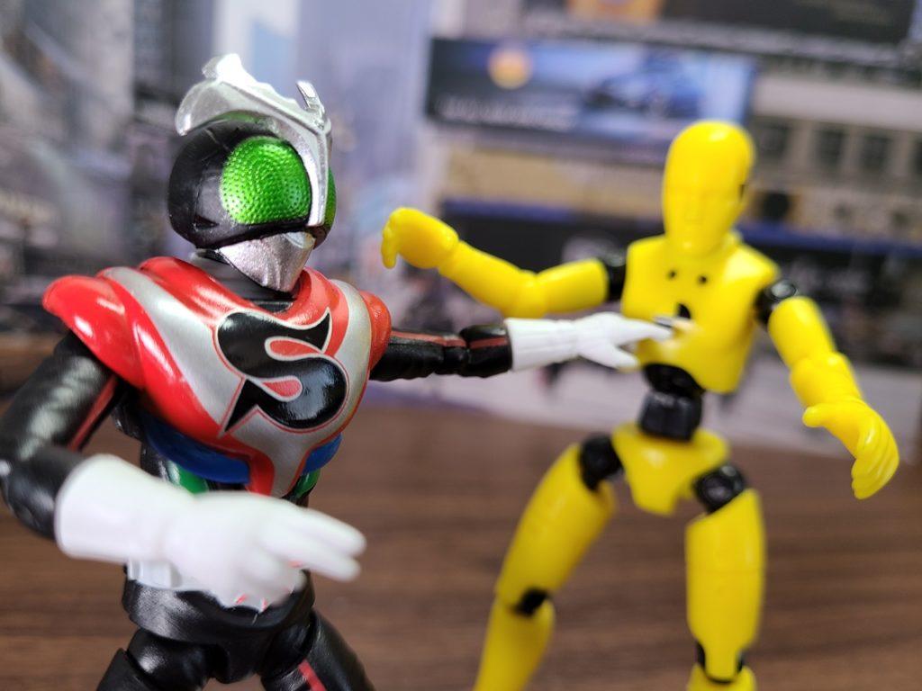 SHODO-X8チャージアップ遊び