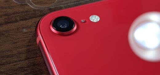 iPhone SEカメラ