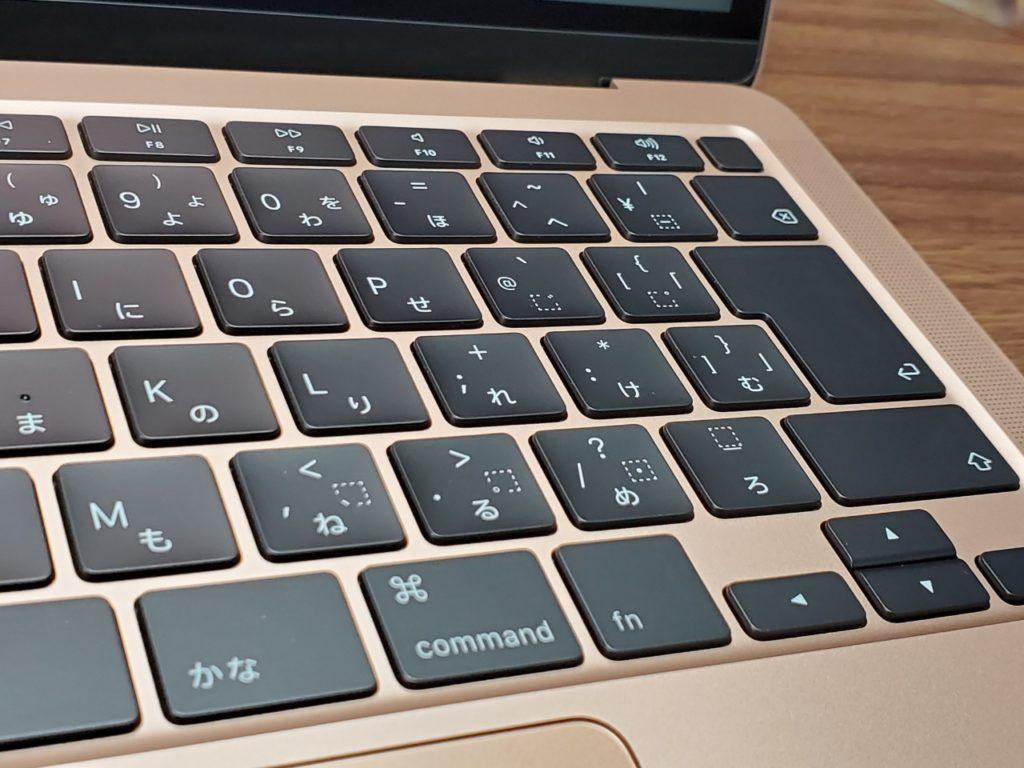 MacBook Airキーボード