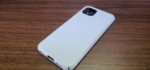P`ixel4本体背面