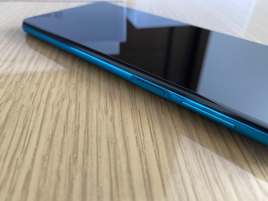Redmi Note 9S指紋認証センサー
