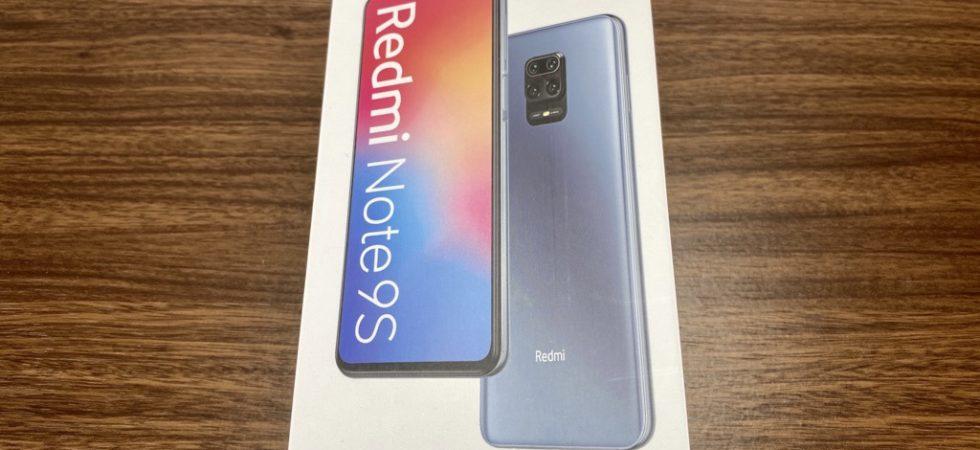 RedmiNote9S_外箱