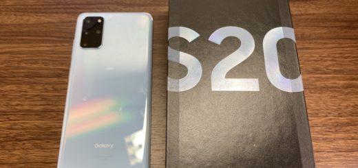 Galaxy S20+本体