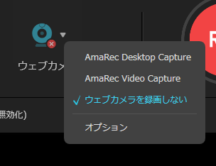 RecExperts_Webカメラ