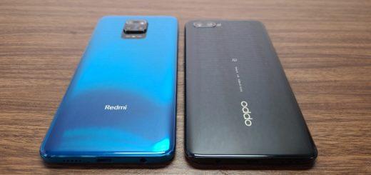 Redmi Note 9SとReno A