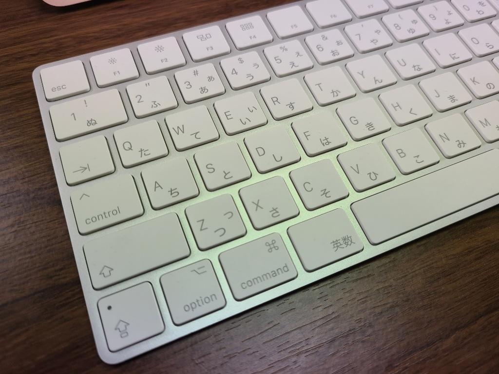 Magic Keyboard左端
