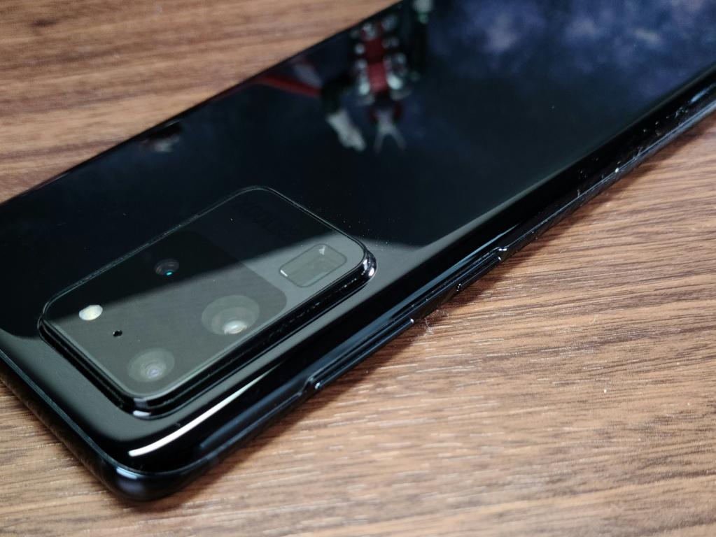 Galaxy S20 Ultraボタン