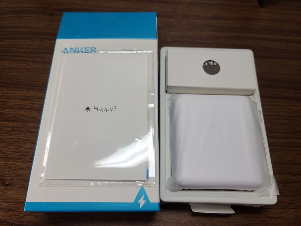 Anker PowerCore III Fusion 5000開封