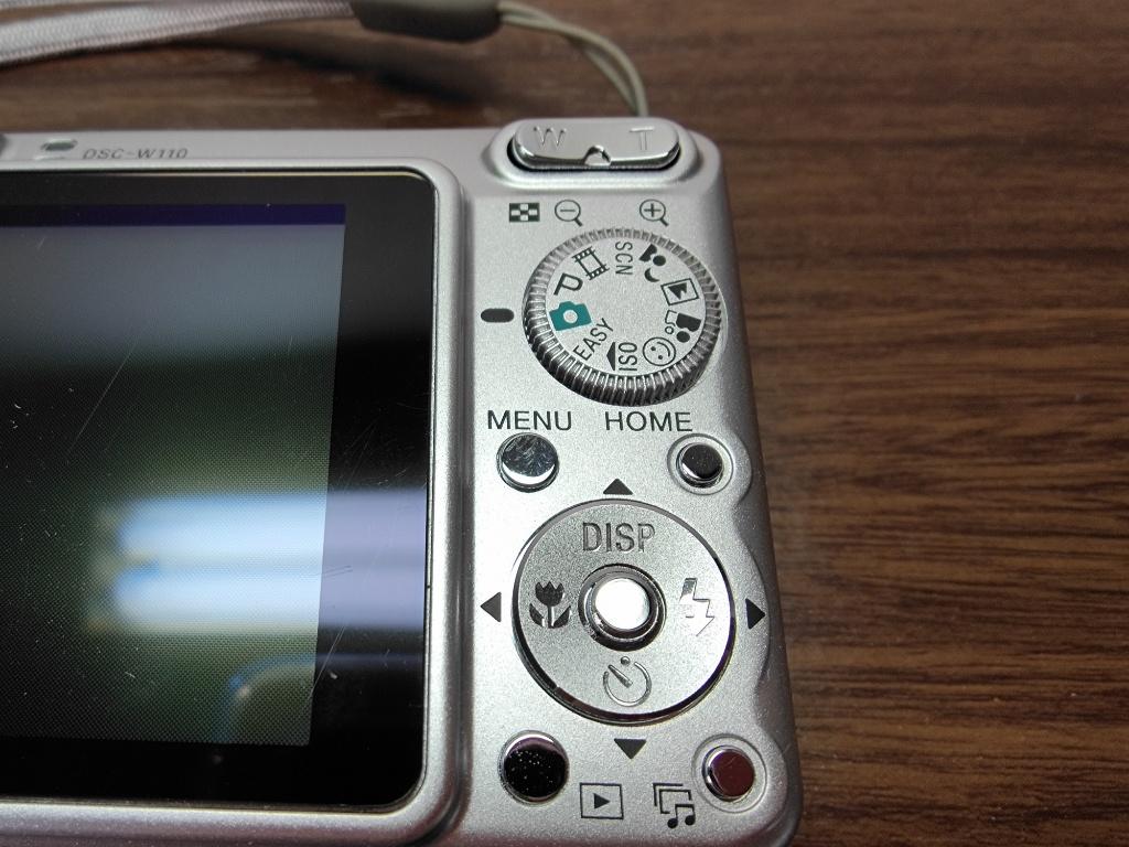 DSC-W110操作