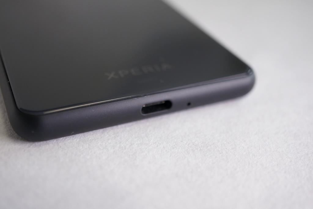 Xperia 10II充電端子