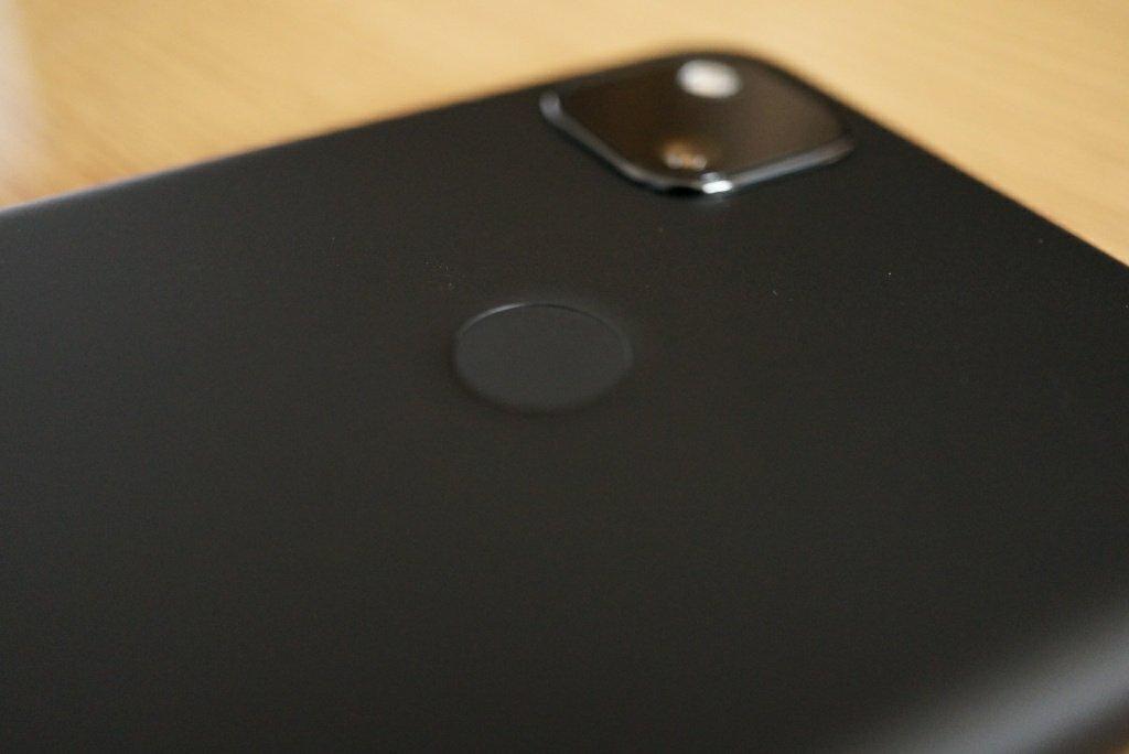 Pixel 4a指紋認証センサー