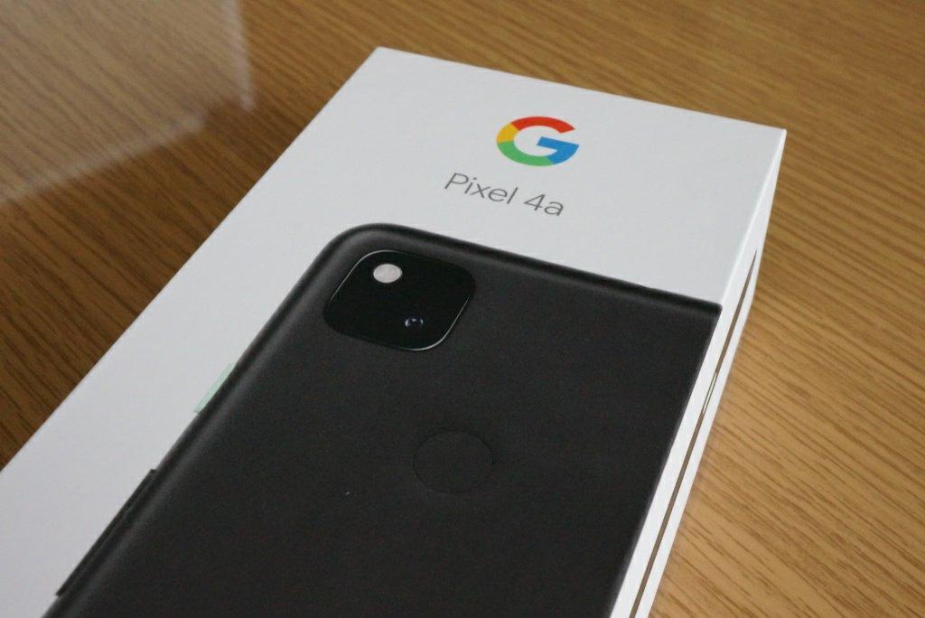 Pixel 4a外箱