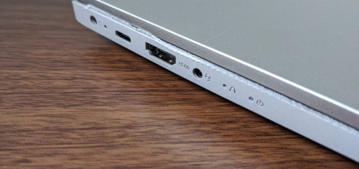IdeaPad Slim 550左側面