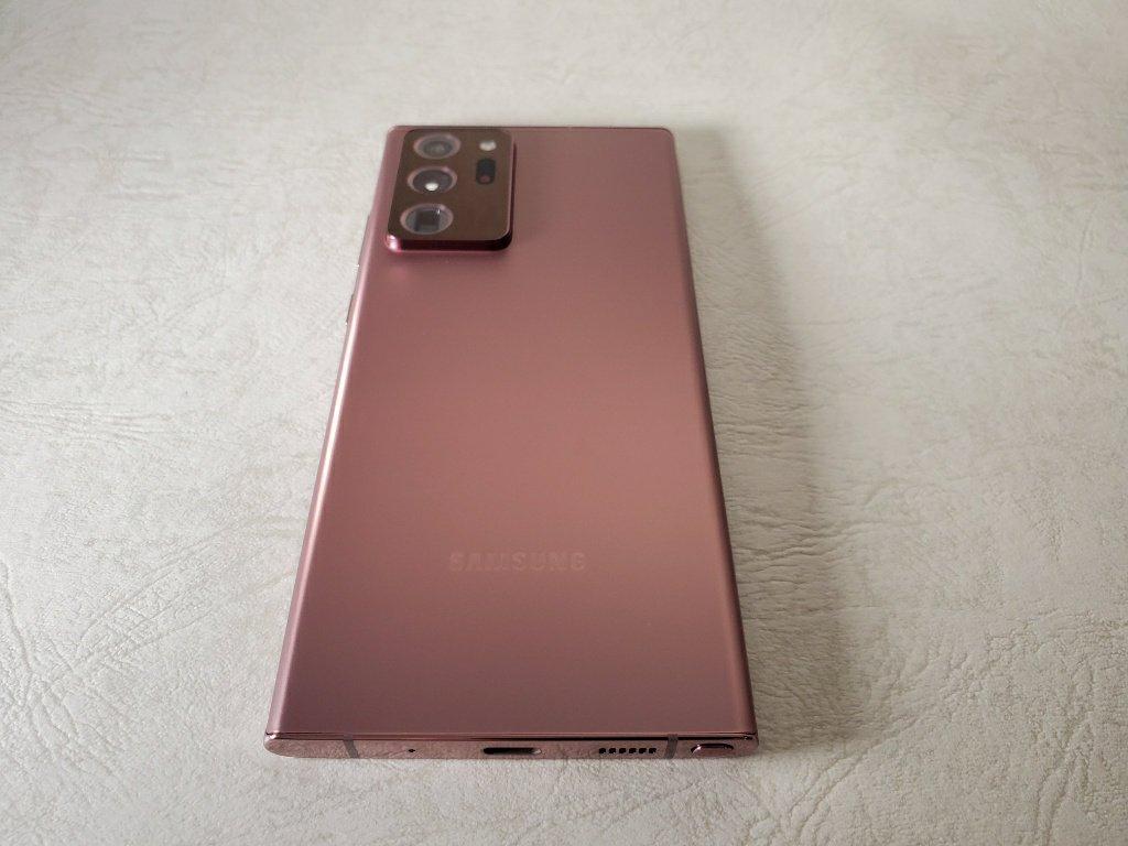 Galaxy Note20 Ultra本体背面