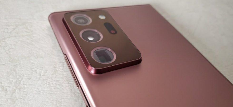 Galaxy Note20 Ultraのカメラ