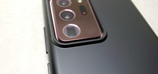 Ringke Note20 Ultraのカメラ周り