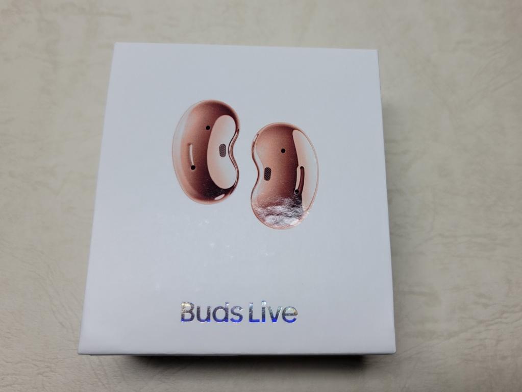 Galaxy Buds Live外箱