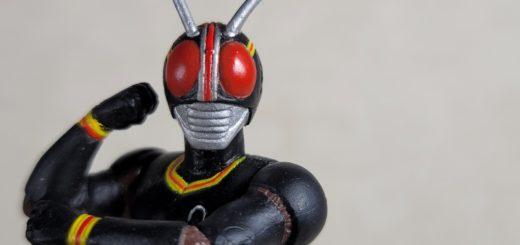 仮面ライダーブラック顔