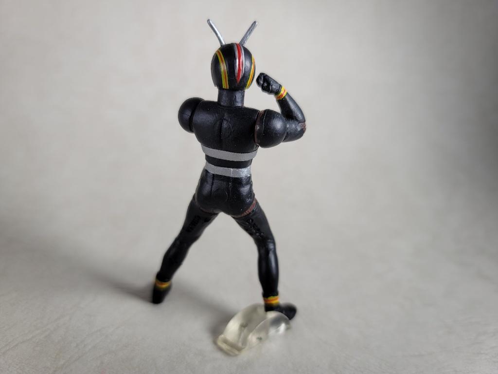 仮面ライダーBLACK背面