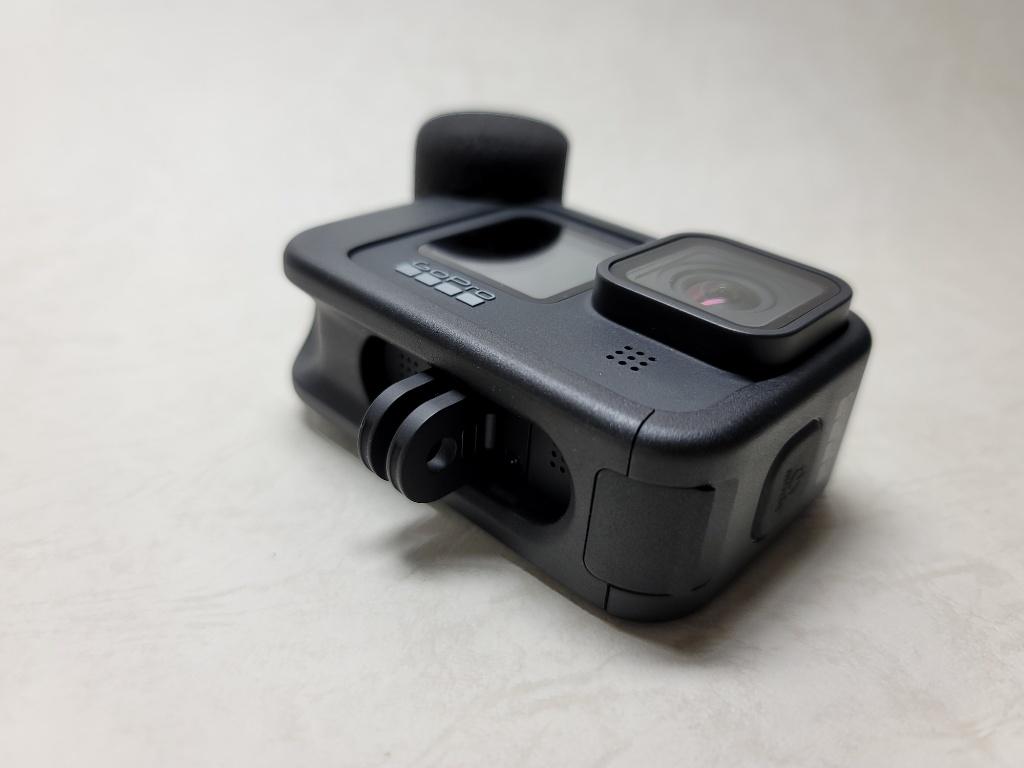 GoPro HERO9メディアモジュラー利用時マウント