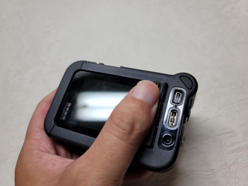 GoPro HERO9メディアモジュラー端子