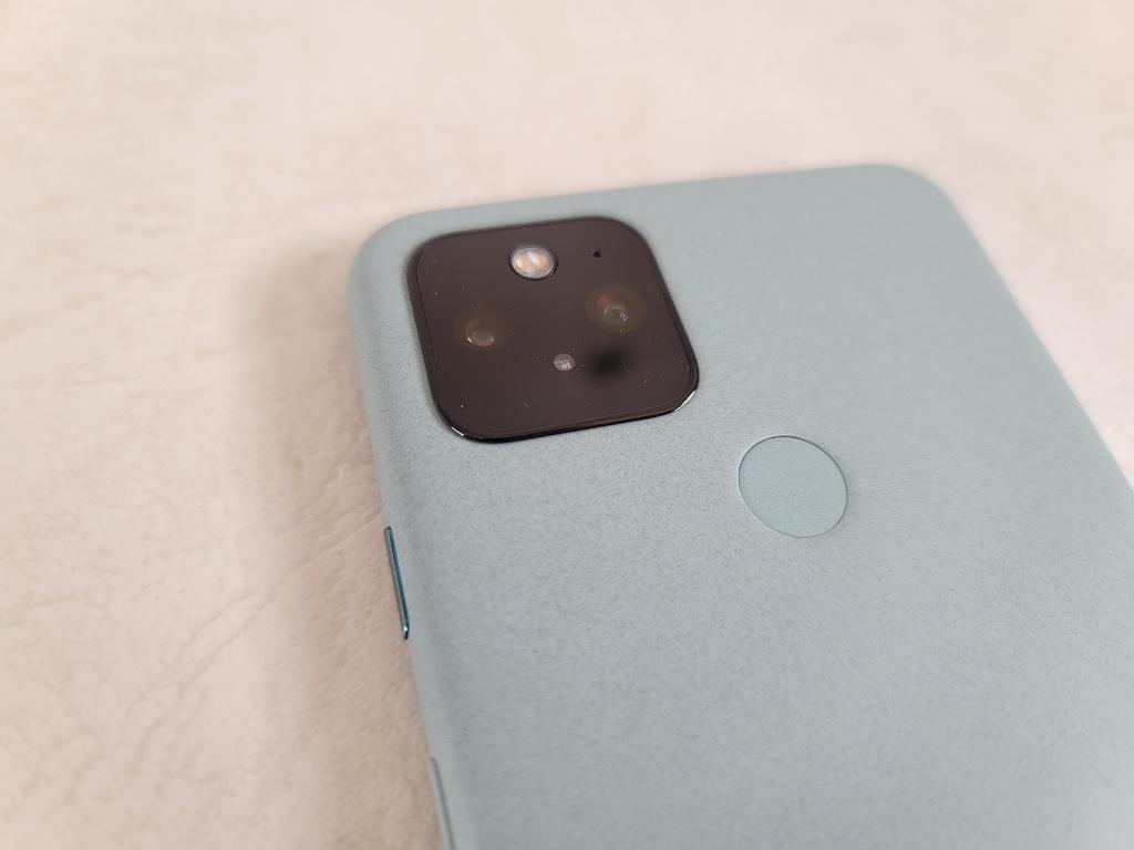 Pixel 5指紋認証センサー