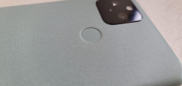 Pixel 5本体背面2