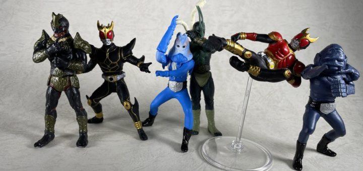 HG 仮面ライダー Part14 ~黒い最強戦士登場編~集合