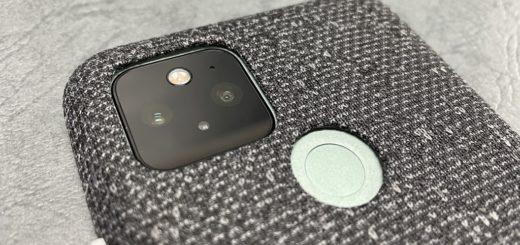 Pixel 5指紋センサーとカメラ