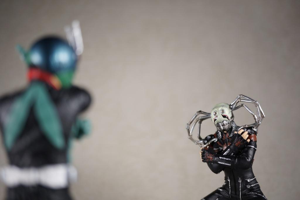 ライダーとスパイダー