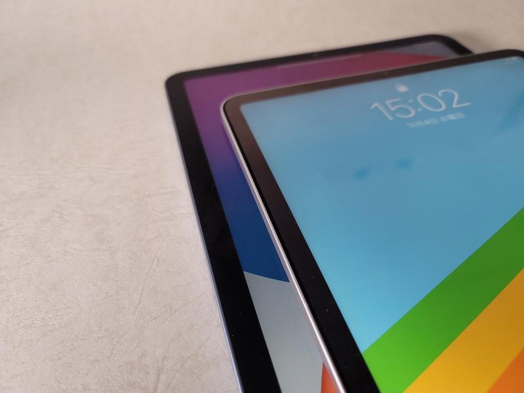 iPad Air画面幅比較