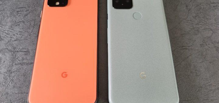 Pixel 4と5