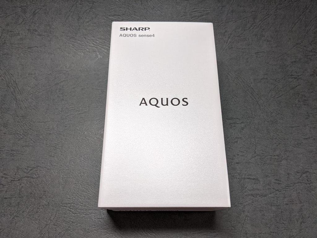 AQUOS sense4箱