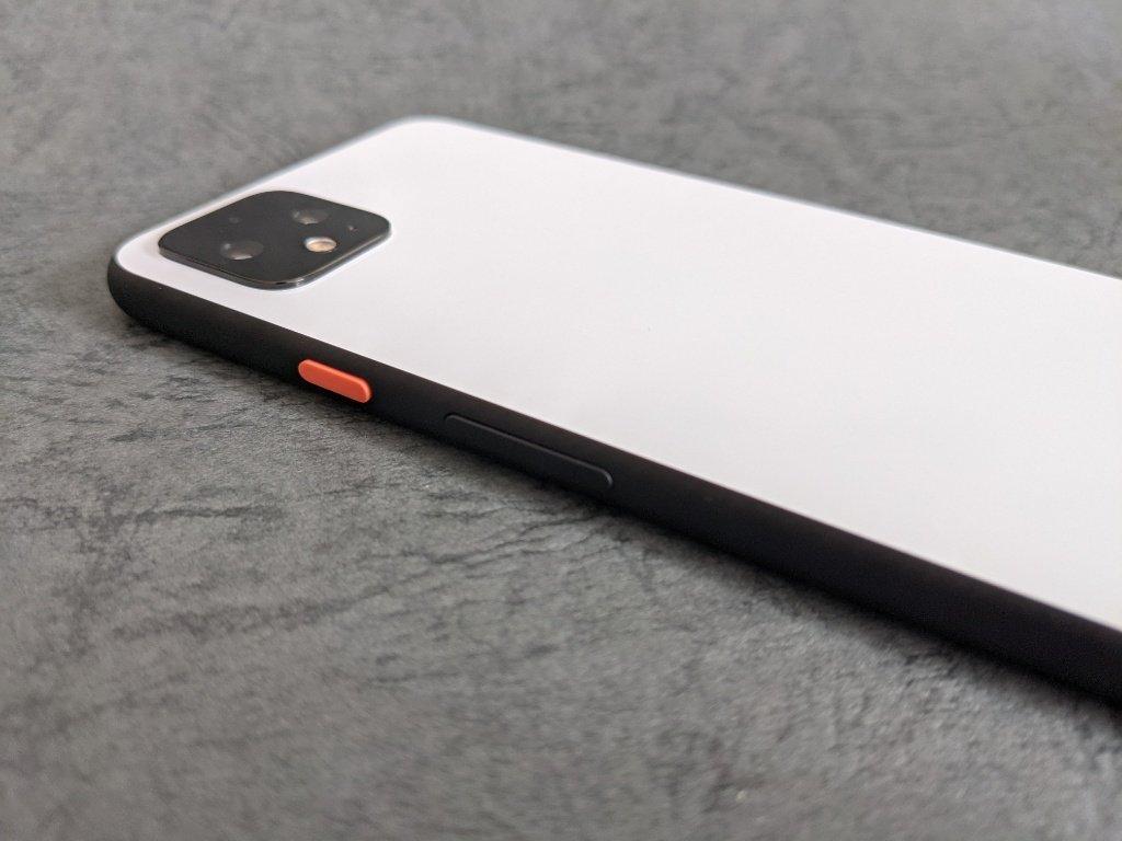 Pixel 4 XLボタン