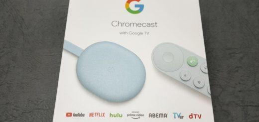Chromecast外箱