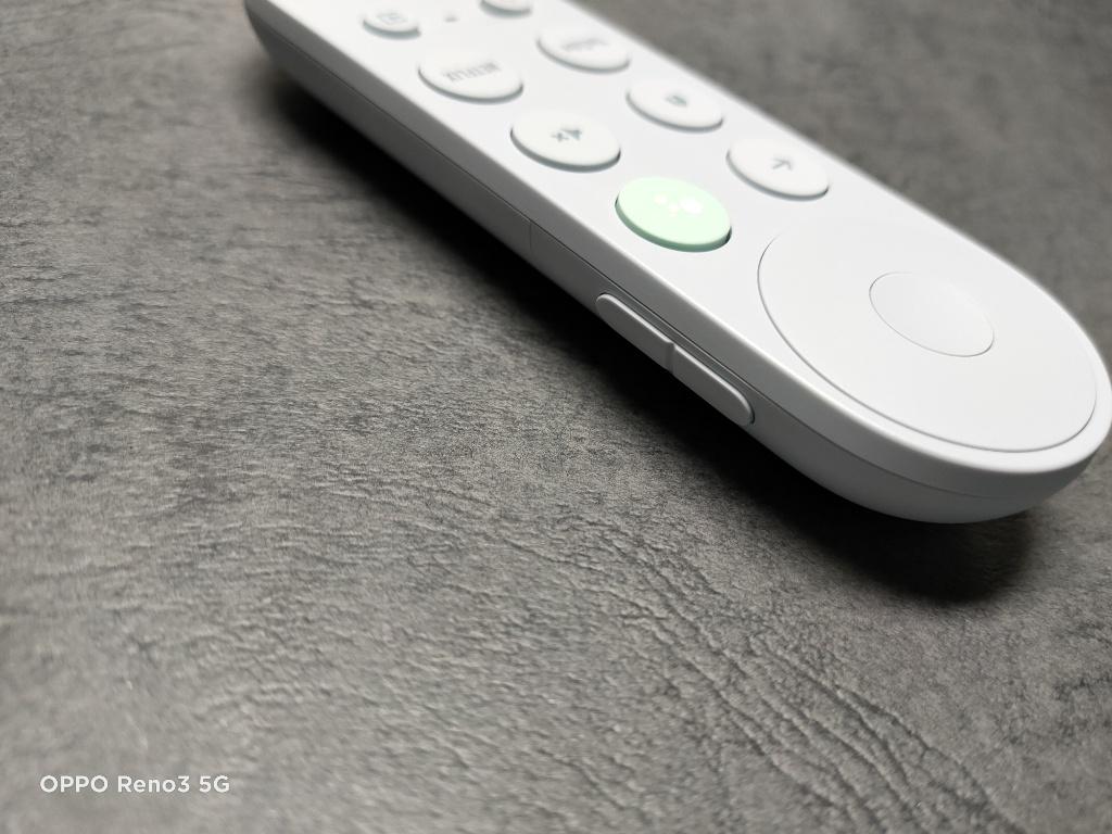 Chromecast音量ボタン