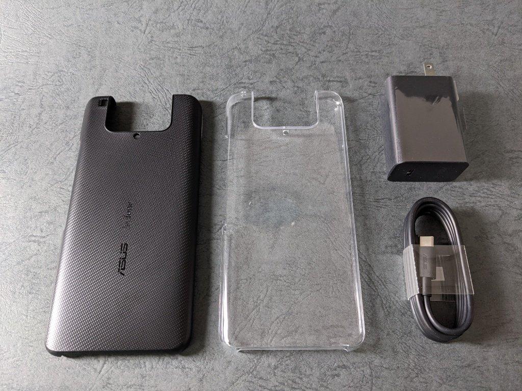 ZenFone 7 Pro付属品一式