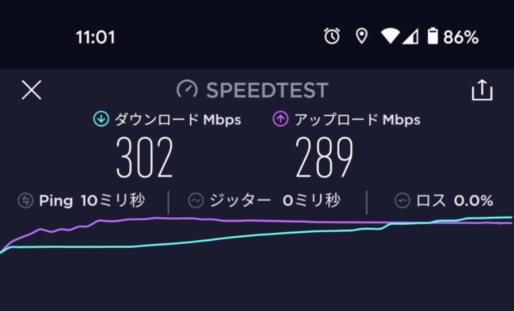 Pixel5速度