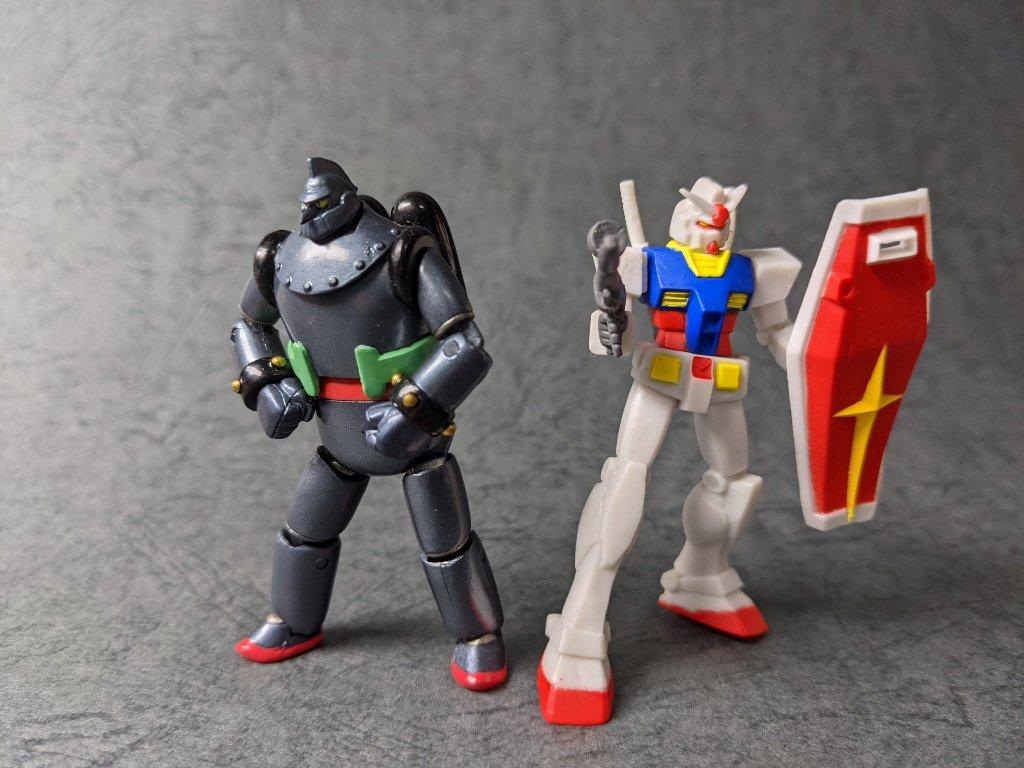 鉄人とガンダム
