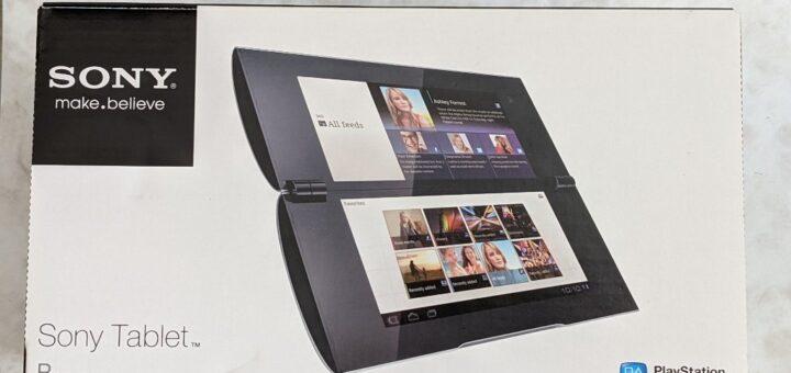 Sony Tablet P外箱
