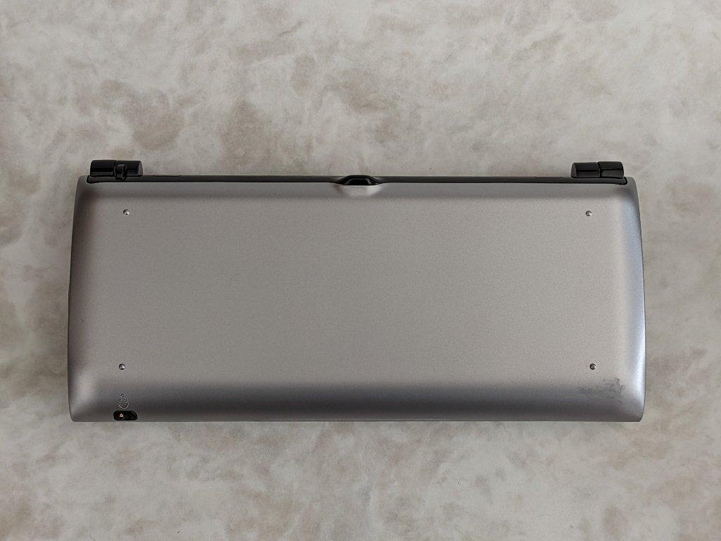 Sony Tablet P本体前面